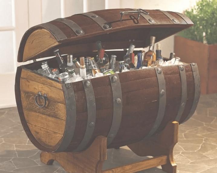 <img source = 'pic.gif' alt = 'barrel bottle cooler '/>