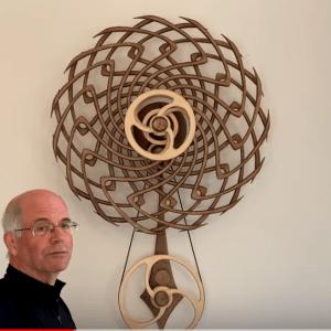 Kinetic art Boomerang