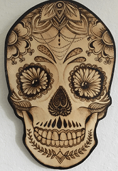 Skull resized again