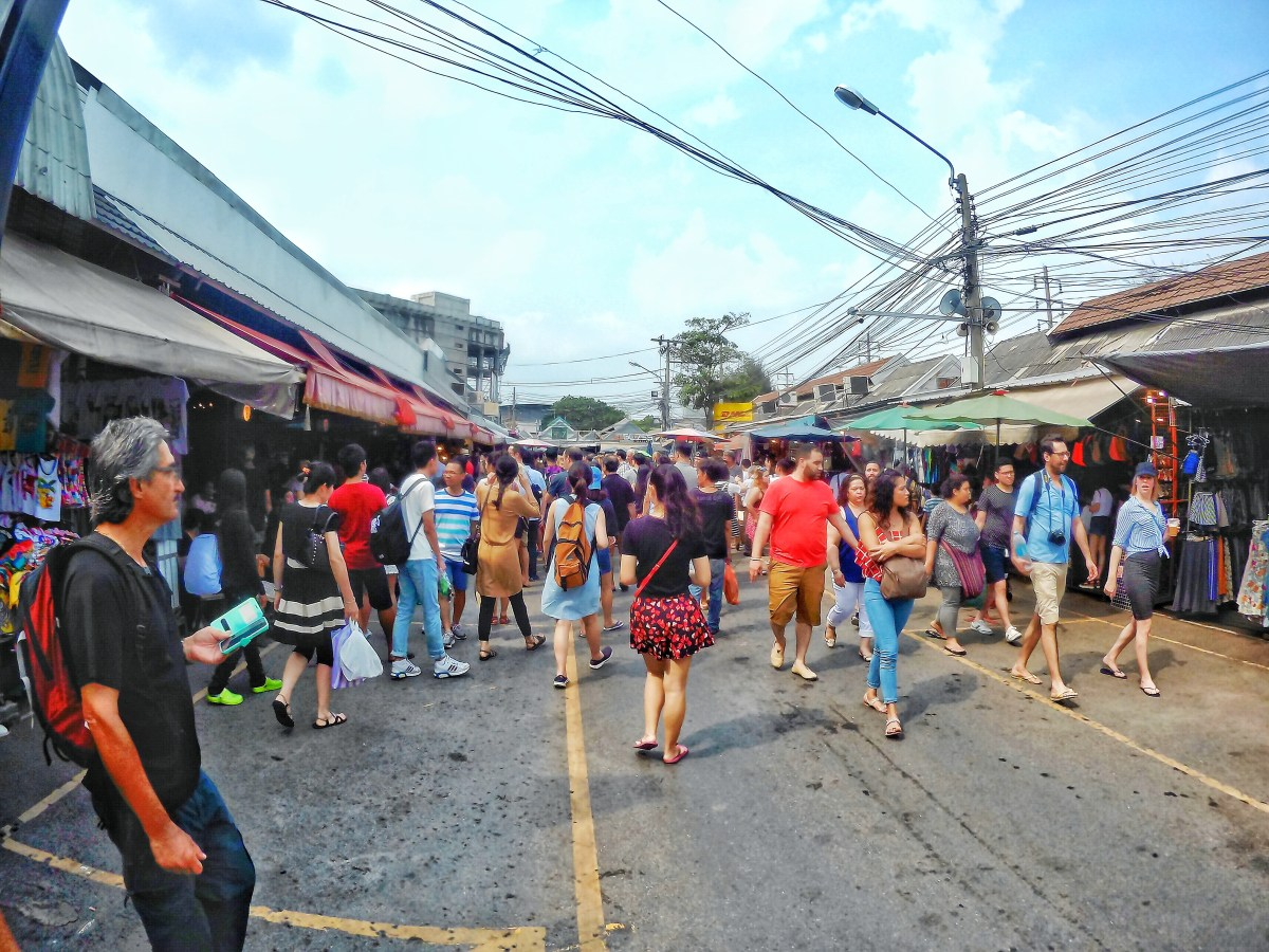 The Never-Ending Maze of Chatuchak Market