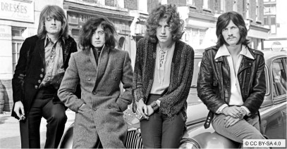 JUIN   Une fois encore appelé devant les tribunaux, le groupe de rock Led Zeppelin est blanchi des accusations de plagiat pour son célèbre Stairway to Heaven. Photo: CC BY-SA 4.0. LIRE L'ARTICLE: https://planscultes.ch/2016/06/19/plagiat-pas-plagiat/