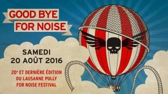 AOÛT | Mauvaise nouvelle en revanche pour le For Noise qui arrête après sa vingtième édition. Image : FOR NOISE. LIRE L'ARTICLE: https://planscultes.ch/2015/12/16/for-noise-arrete/