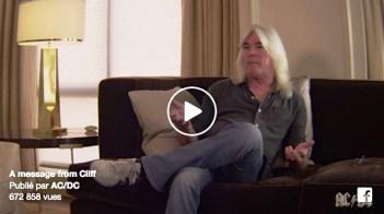 SEPTEMBRE   C'est au tour du bassiste Cliff Williams d'annoncer son départ d'AC/DC après ceux de Brian Johnson et Malcolm Young. Ne reste plus que le soliste Angus Young comme membre fondateur. Image : Facebook. LIRE L'ARTICLE: https://planscultes.ch/2016/09/22/ci-git-acdc/