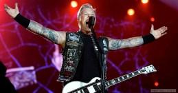 MARS   Metallica célèbre les 30 ans de son album Master of Puppets considéré comme l'une des pièces fondatrices du heavy Metal. Photo: Tommy Holl / CC BY 3.0. LIRE L'ARTICLE: https://planscultes.ch/2016/03/03/cetait-plein-de-junkies-qui-se-shootaient/