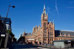 La gare de King's Cross, à Londres, est le point de départ vers l'école de magie Poudlard. © David Trotta