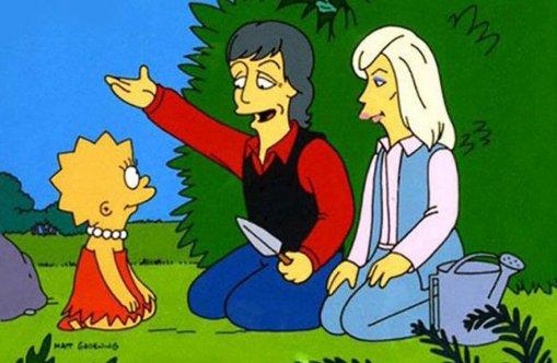 Paul et Linda McCartney