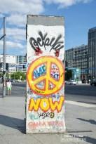 Des bouts du mur son encore présents à des nombreux endroits dans Berlin. © David Trotta