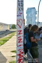 Il y a 30 ans précisément débutait la destruction du mur qui a séparé Berlin en deux durant 28 ans. © David Trotta