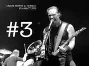 Dernière marche du podium. Le chanteur de Metallica James Hetfield a beaucoup fait parler de lui cette année. En septembre, le groupe annonçait une pause due aux problèmes d'addiction du musicien. Au registre des bonnes nouvelles toutefois, on a pu voir Hetfield s'illustrer sur grand écran pour la première fois. LIRE L'ARTICLE
