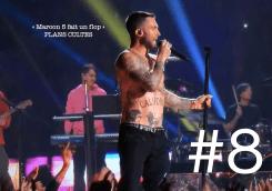 Maroon 5 animait la mi-temps de la finale du Super Bowl. Le groupe pop a malheureusement proposé un show des plus fades, préférant exhiber les abdos de son chanteur plutôt qu'une performance de haut niveau. LIRE L'ARTICLE