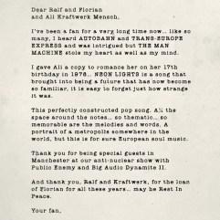 Kraftwerk - Neon Lights. Source : U2.com