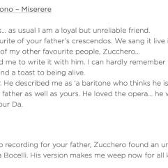Pavarotti & Zucchero & Bono - Miserere