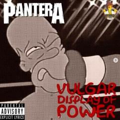 Pantera - Vulgar Display of Power. Image Instagram @springfieldalbums