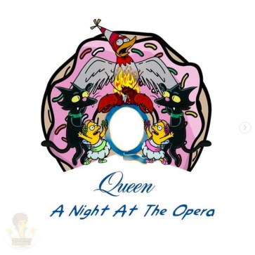 Queen - A Night at the Opera. Image Instagram @springfieldalbums