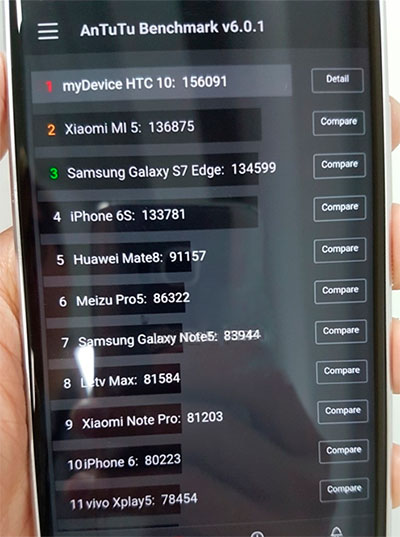 Antutu benchmark phone results  Is the device stable? What is AnTuTu