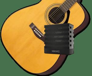 Mikme enregistre une guitare