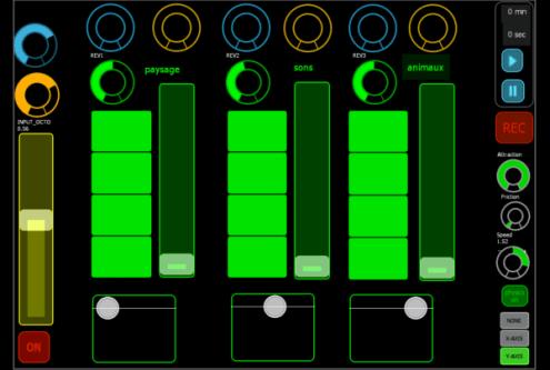 traitement audio live