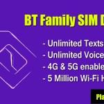 BT Family SIM Deals 2021