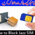How to block and unblock Jazz SIM online