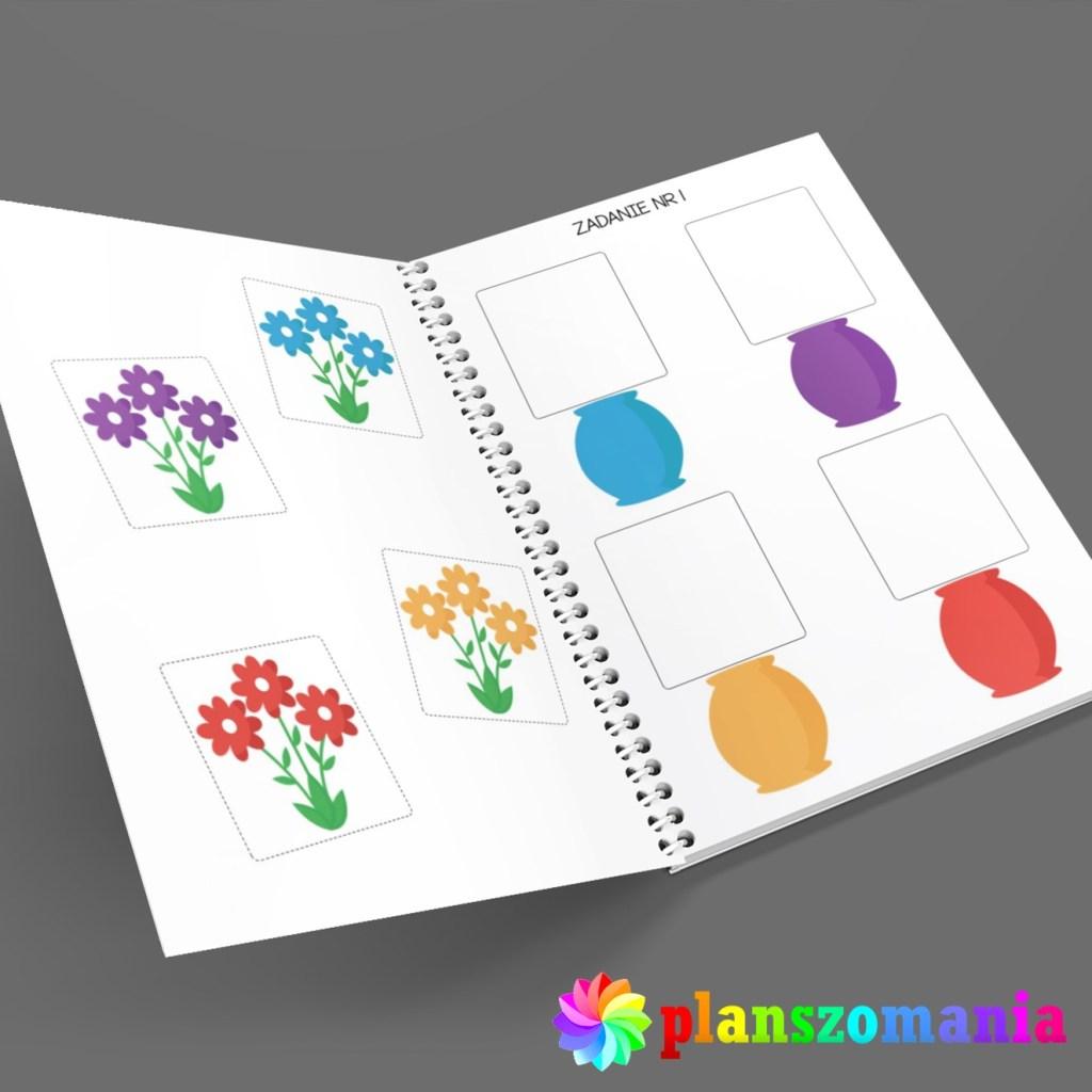 pomoce edukacyjne terapeutyczne pdf nauka kolorów