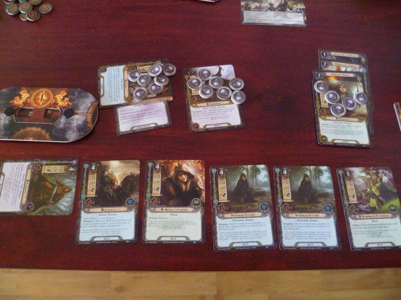 Władca Pierścieni: gra karciana - rozgrywka