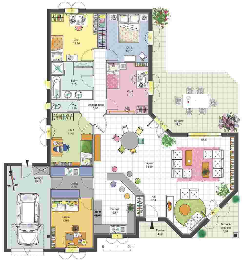 Plantas De Casas 37 Modelos Para Inspirar