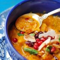 Yemenite Spice Butternut & Chickpea Soup