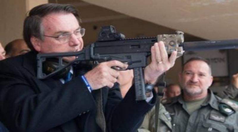 Exportações de armas crescem mais de 30% sob Bolsonaro, diz relatório