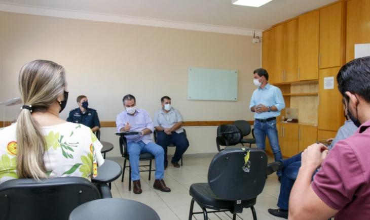 Prefeito Marcos Calderan reuniu-se com diretoria da Associação Empresarial de Maracaju