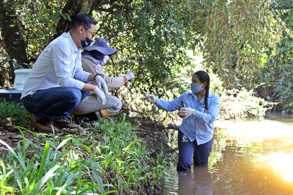 Rio Brilhante: Córrego Araras é vistoriado para início de ações de educação ambiental