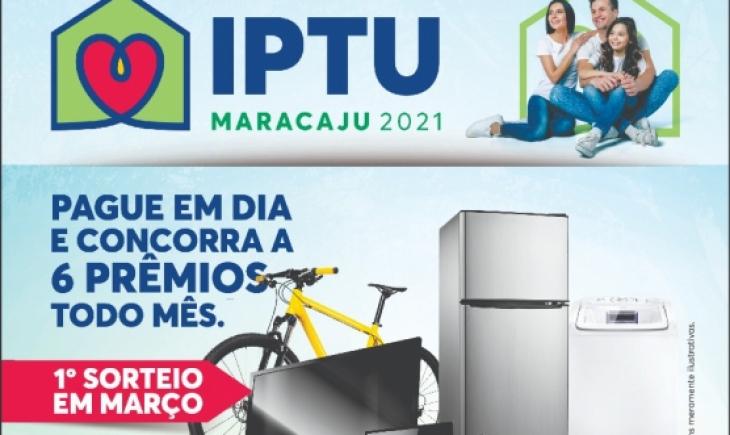 Sorteio do IPTU 2021 de março é prorrogado