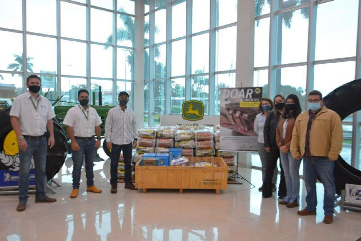 Sindicato Rural recebe apoio de parceiros e amplia arrecadação de cestas