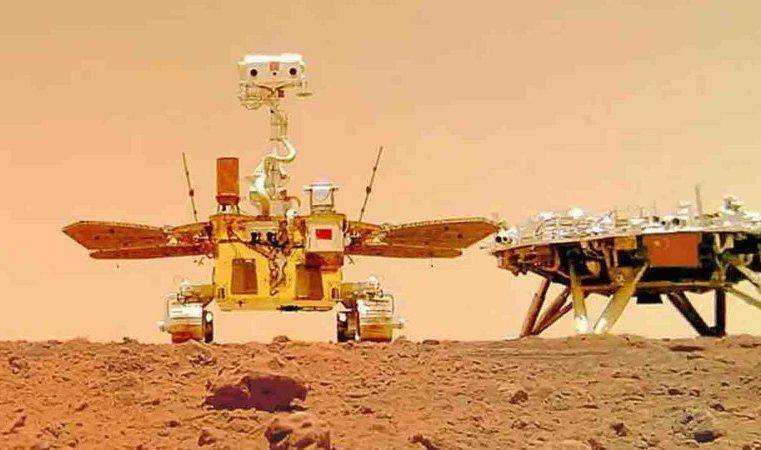China sai na frente e anuncia que enviará sua 1ª missão tripulada para Marte em 2033