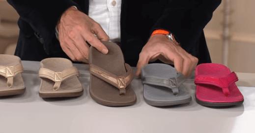 best flip flop for plantar fasciitis