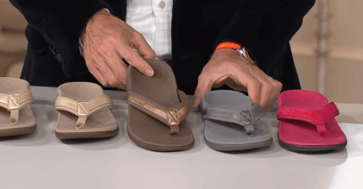 best flip flop for plantar fasciitis