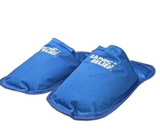 Ice Pack Slippers for plantar fasciitis