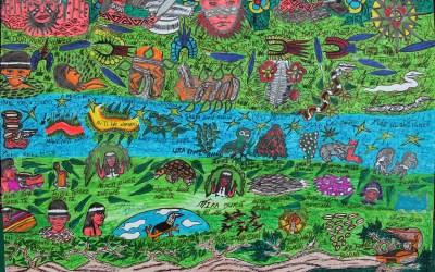 El Movimiento de los Artistas Huni Kuin: La ayahuasca y el arte contemporáneo