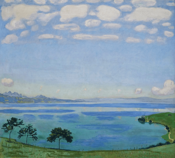 Ferdinand Hodler – Geneva Lake drawing class in Kunsthaus