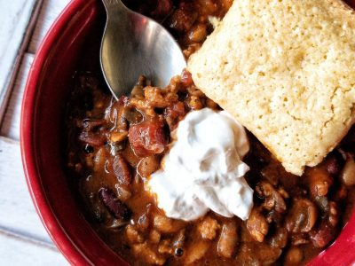 Plant-Based Loaded Chili