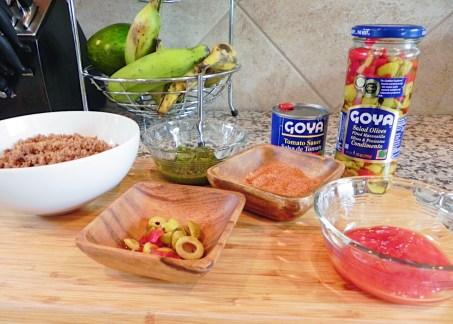 Ingredientes Alcapurrias