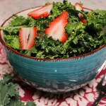 Vegan Massaged Kale Avocado Salad