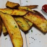 Garbage Potato Wedges