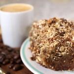 Gluten and Refined Sugar Free Coffee Cake