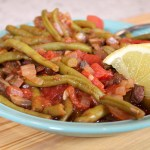 Green Beans & Stewed Tomatoes