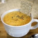 Creamy Cauliflower Soup with Wild Rice