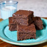 Oil Free Vegan Brownies