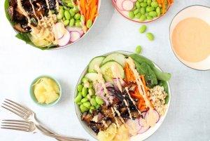 Portobello Poke bowl