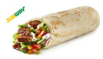 Subway vegan wrap