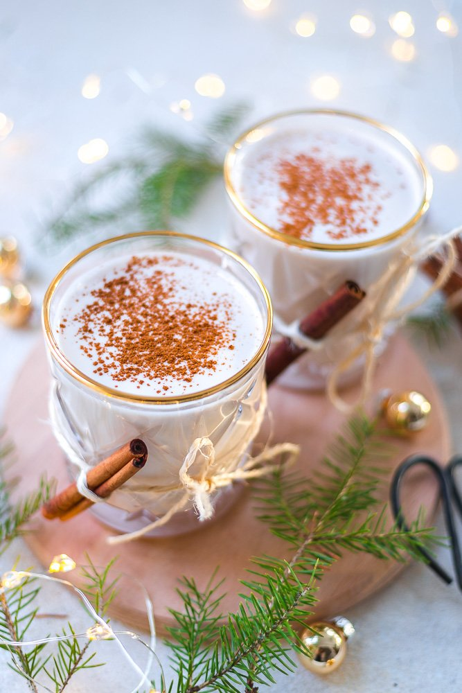 easy vegan eggnog
