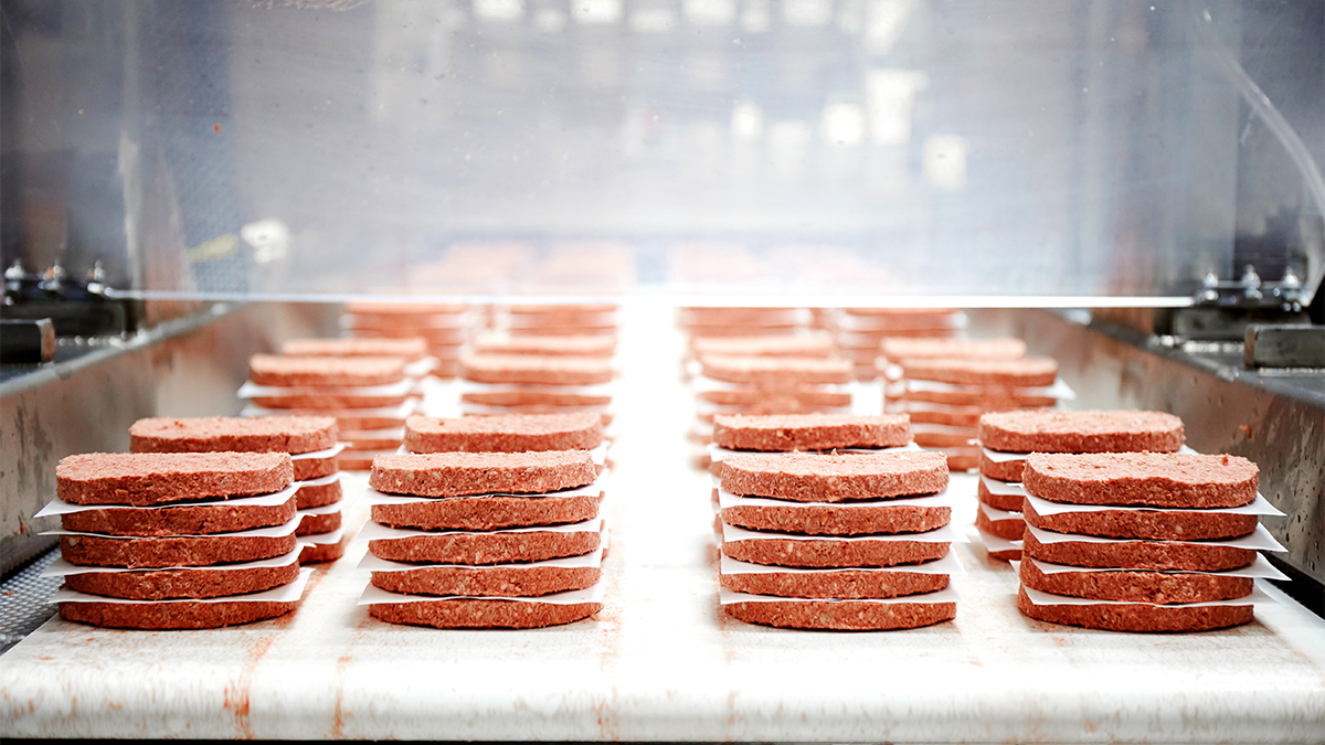 Impossible Foods' plant-based burgers